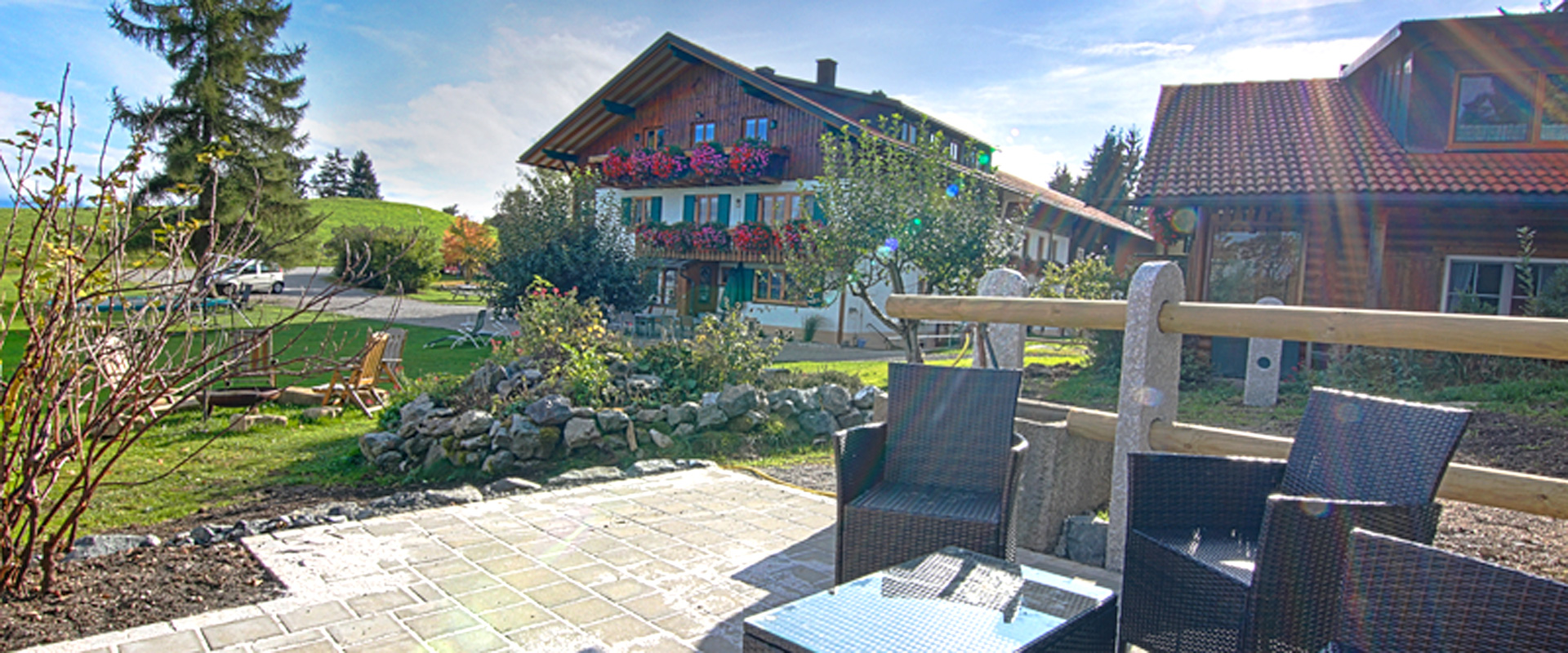 Terrasse Grillhuette HDR2b